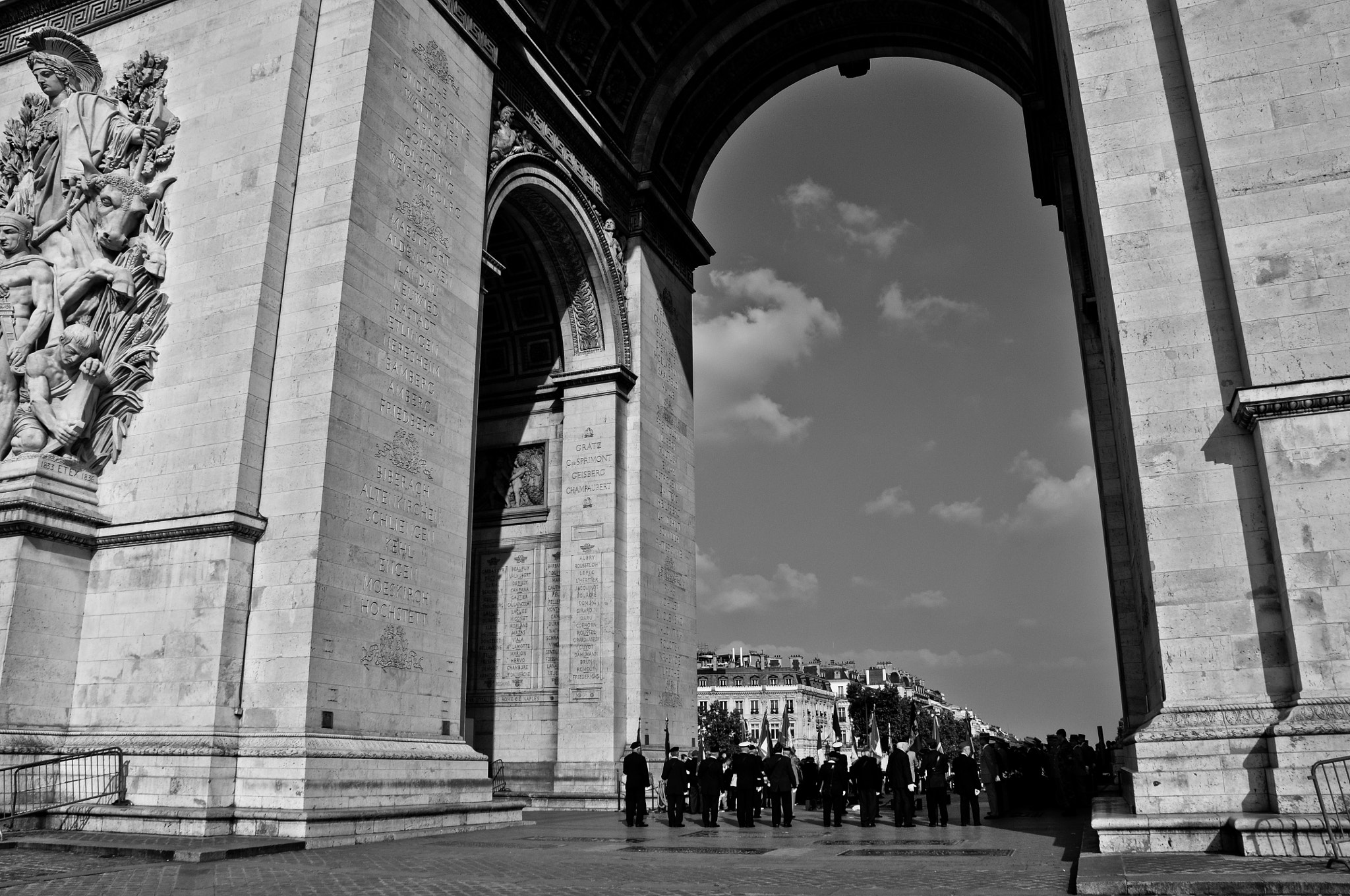 Photograph Arc Du Triomphe by Firoz  Bharucha on 500px