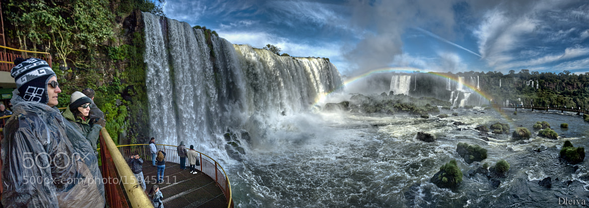 Photograph Argentina and Brazil, Iguacu Falls, mist rising over falls by Domingo Leiva on 500px