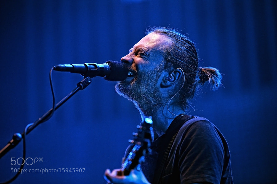 Photograph Radiohead  by Luuk Denekamp on 500px