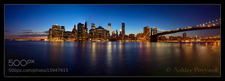 Photograph Manhattan by Ashley Poyyayil on 500px