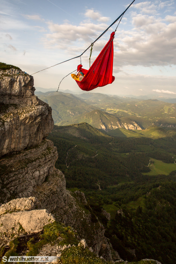 Adventure Hammock by Sebastian Wahlhuetter on 500px.com