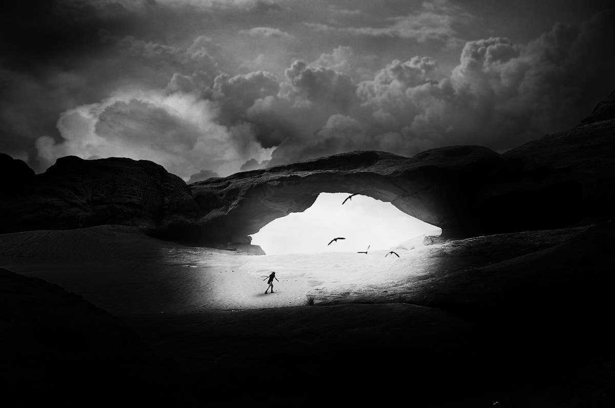 Photograph desert portal by Florian Gampert on 500px
