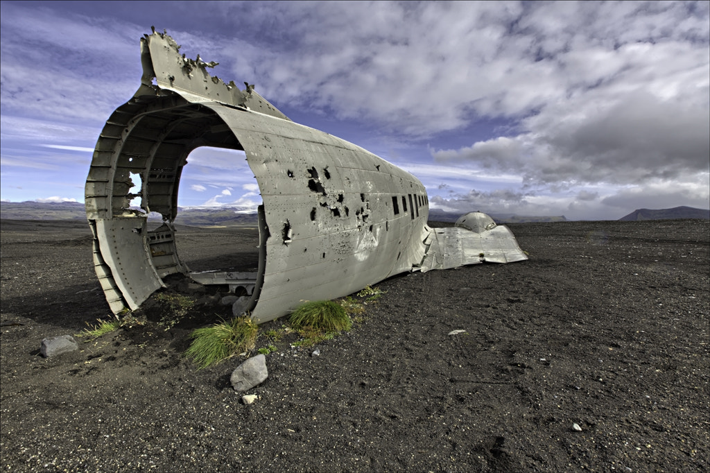 Photograph Plane crash Iceland by George Pearson on 500px