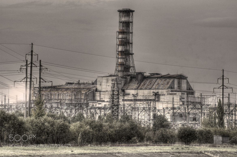 Photograph CHERNOBYL reactor unit 4 by Stijn Brands  on 500px