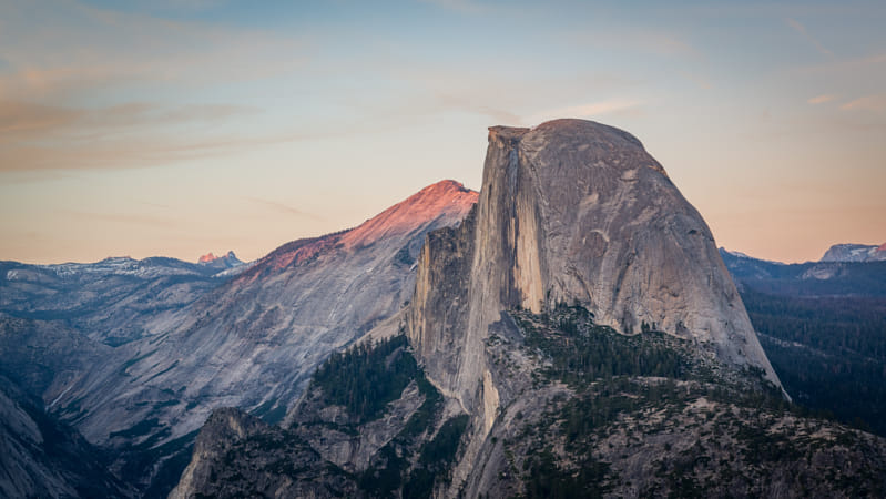 Half Dome in Yosemite National Park by Heather Balmain on 500px
