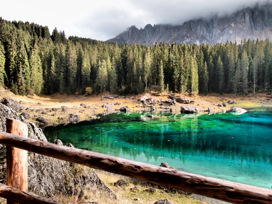 Photograph Lago di Carezza by Elisabetta Vitellozzi on 500px
