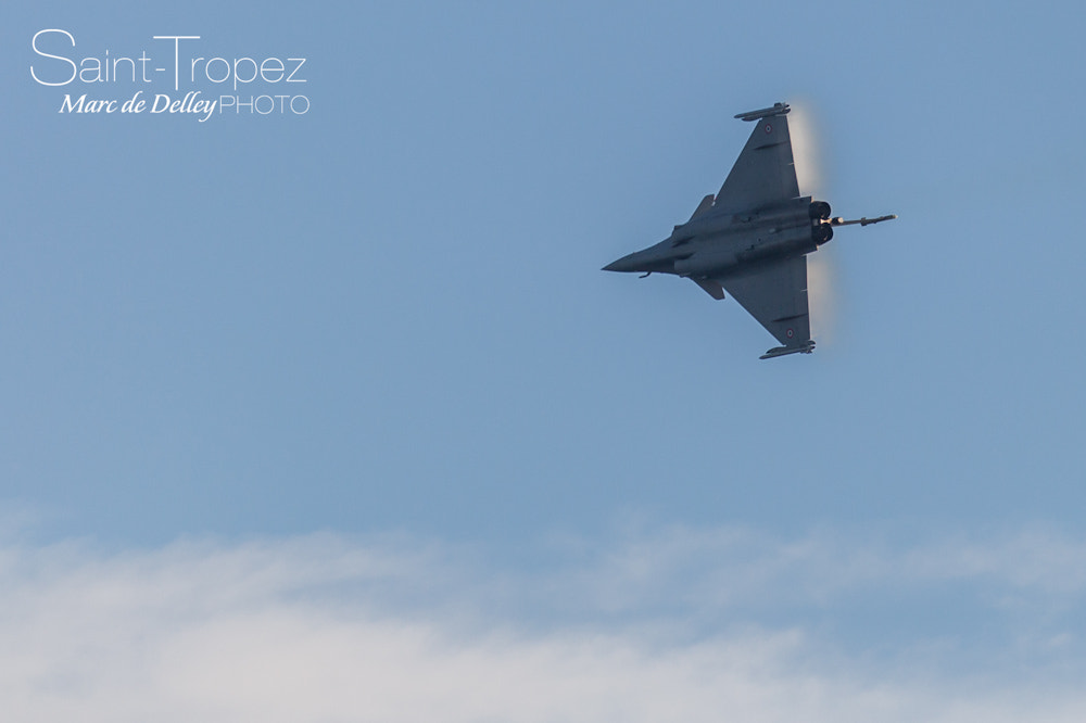 Photograph Dassault Rafale Sound barrier by Marc de Delley on 500px