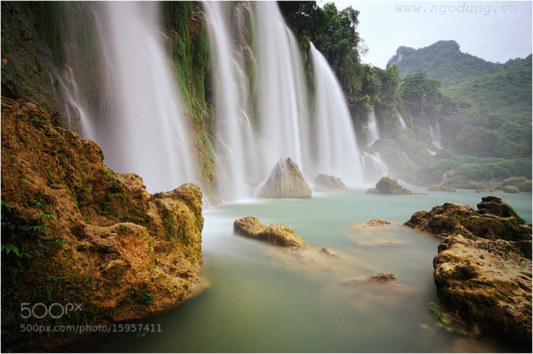 Photograph Ban Goc water fall  02  - Viet Nam by Ngo Dung on 500px