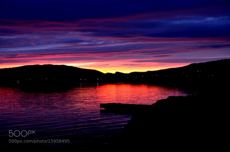 Photograph Sunset in northern Norway by Ann-Britt Holmslett on 500px