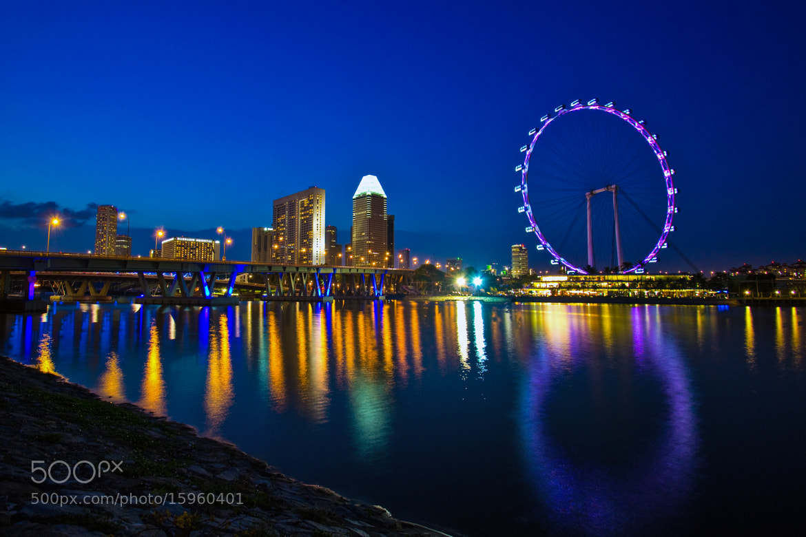 Photograph Singapore Flyer by Antonio Obispo on 500px