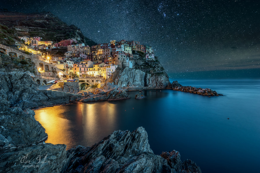 Buona Notte Manarola by Alex Gaflig on 500px.com