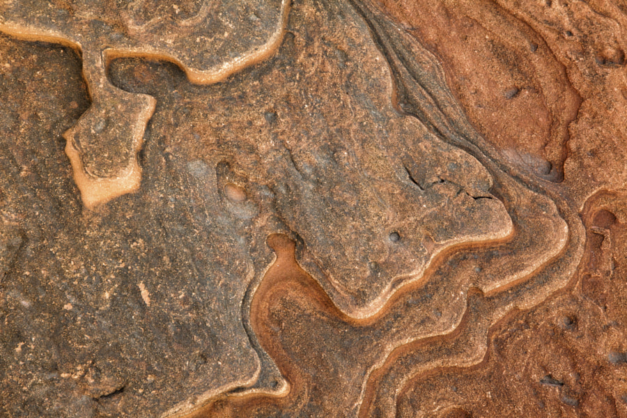 Eroded sandstone patterns