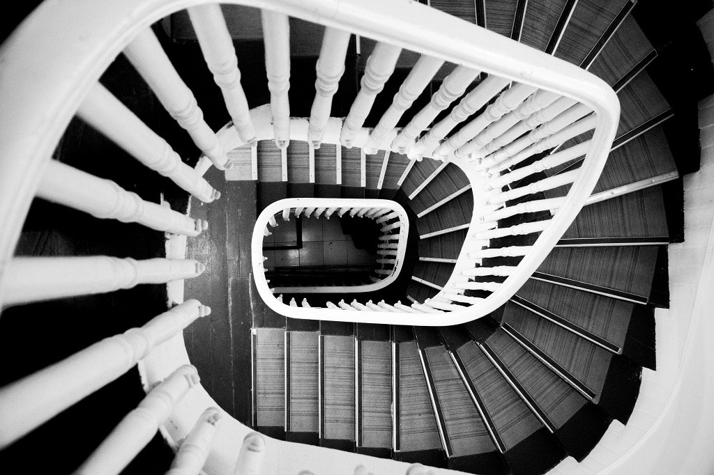 Photograph Stairs by Sinan Atasoy on 500px