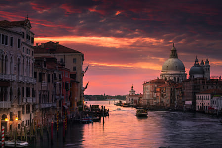 Sunrise over Venice by Klassy Goldberg on 500px