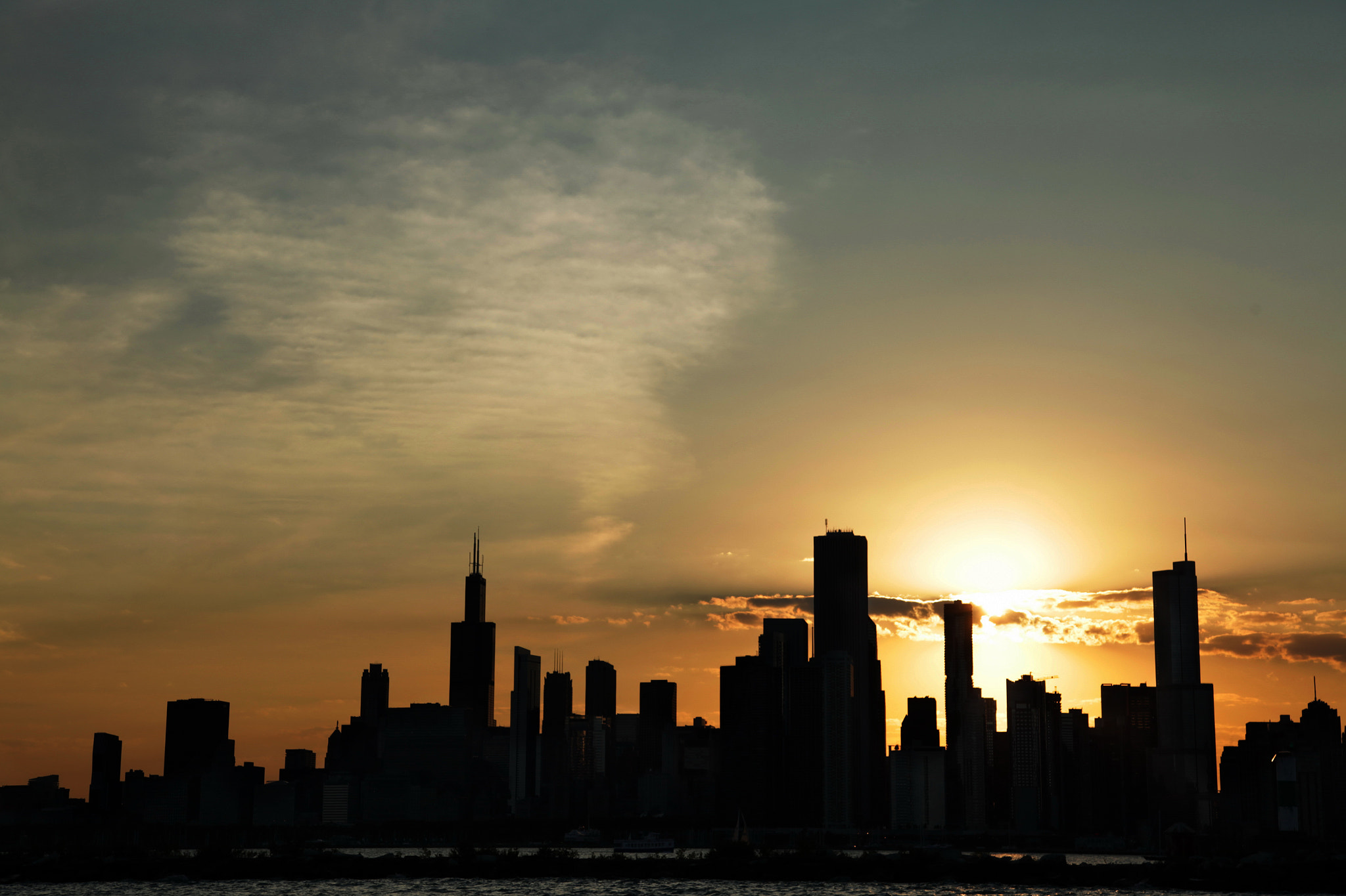 Photograph Chicago Skyline by Kristy Yang on 500px