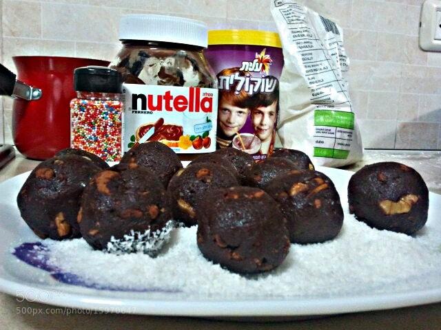 Photograph Chocolate balls  by shani shemesh on 500px