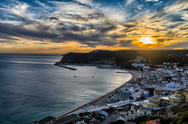 Photograph Sunset in Sesimbra, Portugal by Michael Abid on 500px