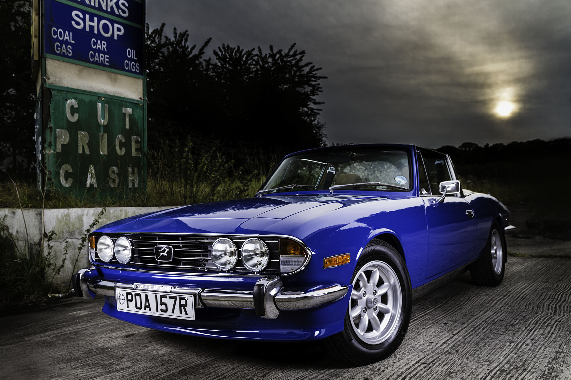 Photograph Triumph Stag by Steve Bryson on 500px