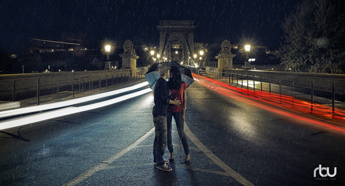Photograph Kiss in the rain by Rober Lou on 500px
