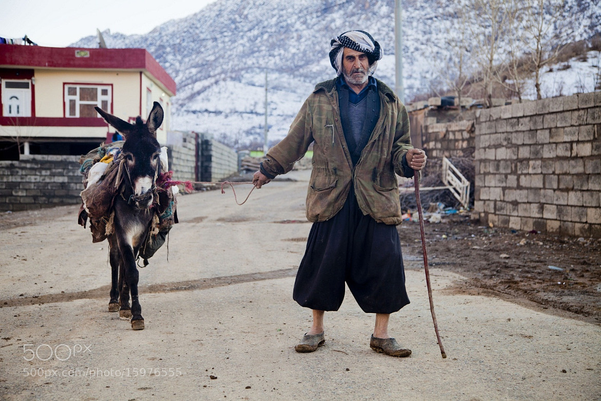 Photograph Kurdish Man, Yaxsemer Village by sartep othman on 500px