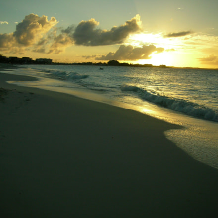 Turks and Caicos Sunset, Nikon COOLPIX S3
