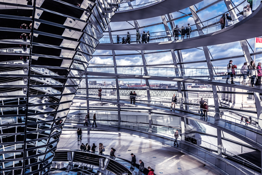 Reichstag Dome Berlin by Ronak Gandhi on 500px.com