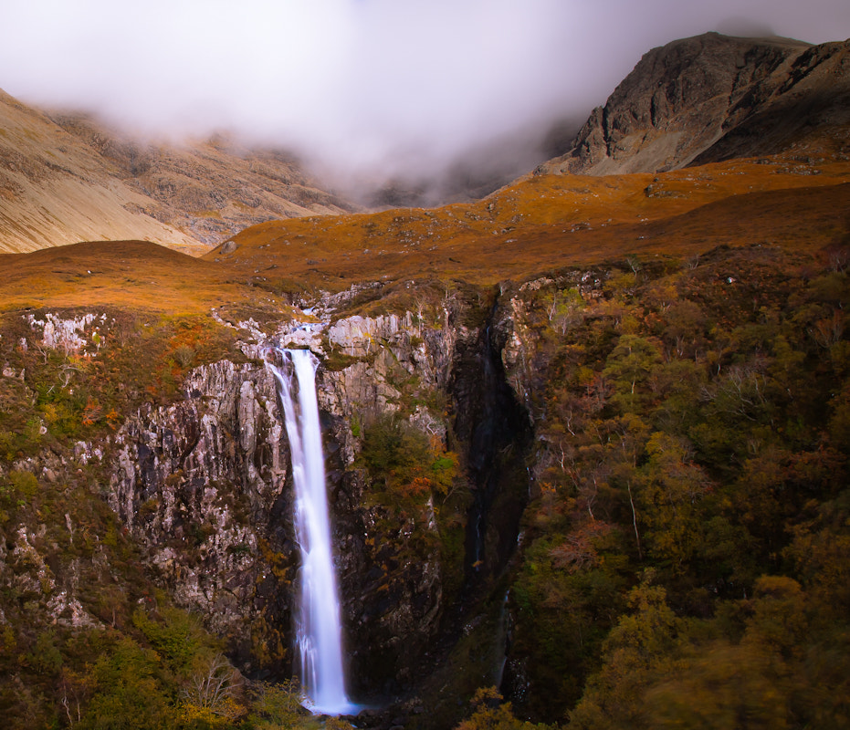 Photograph Eas Mor in Spate by Matthew Hellewell on 500px