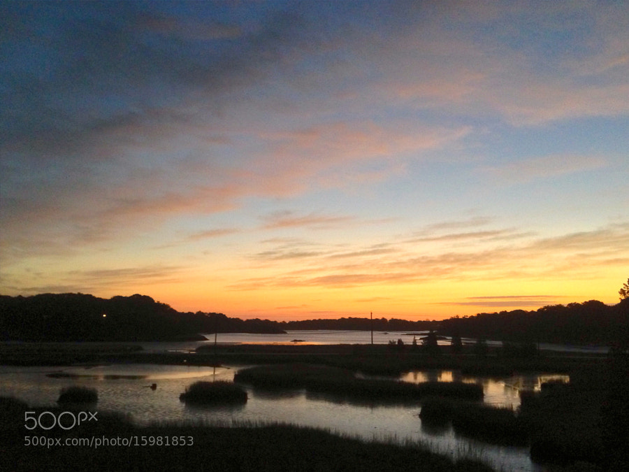Sunrise at 31 Bow Street, Cohasset MA 02025