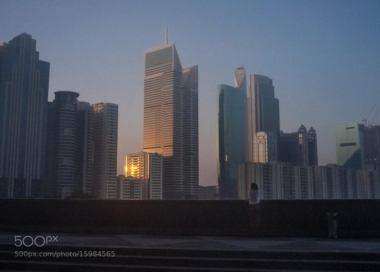 Photograph Dubai Solitude by Marco Castelvecchio on 500px