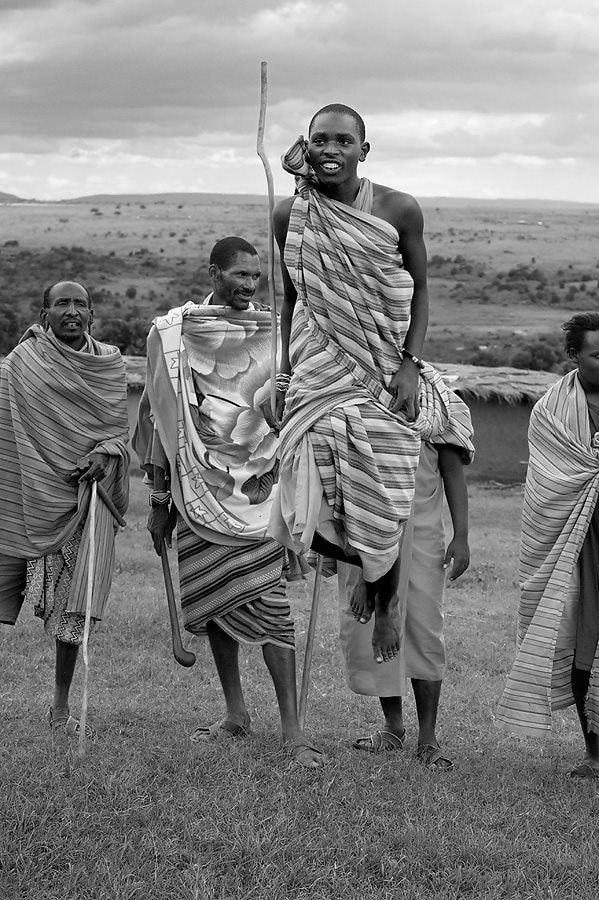 Photograph Maasai Warrior, Kenya by Dean Tatooles on 500px
