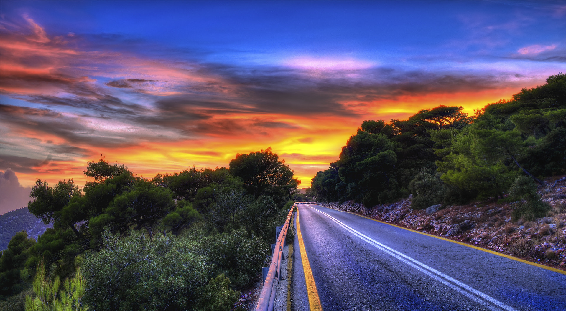 Photograph A Road by Antonis Karalis on 500px