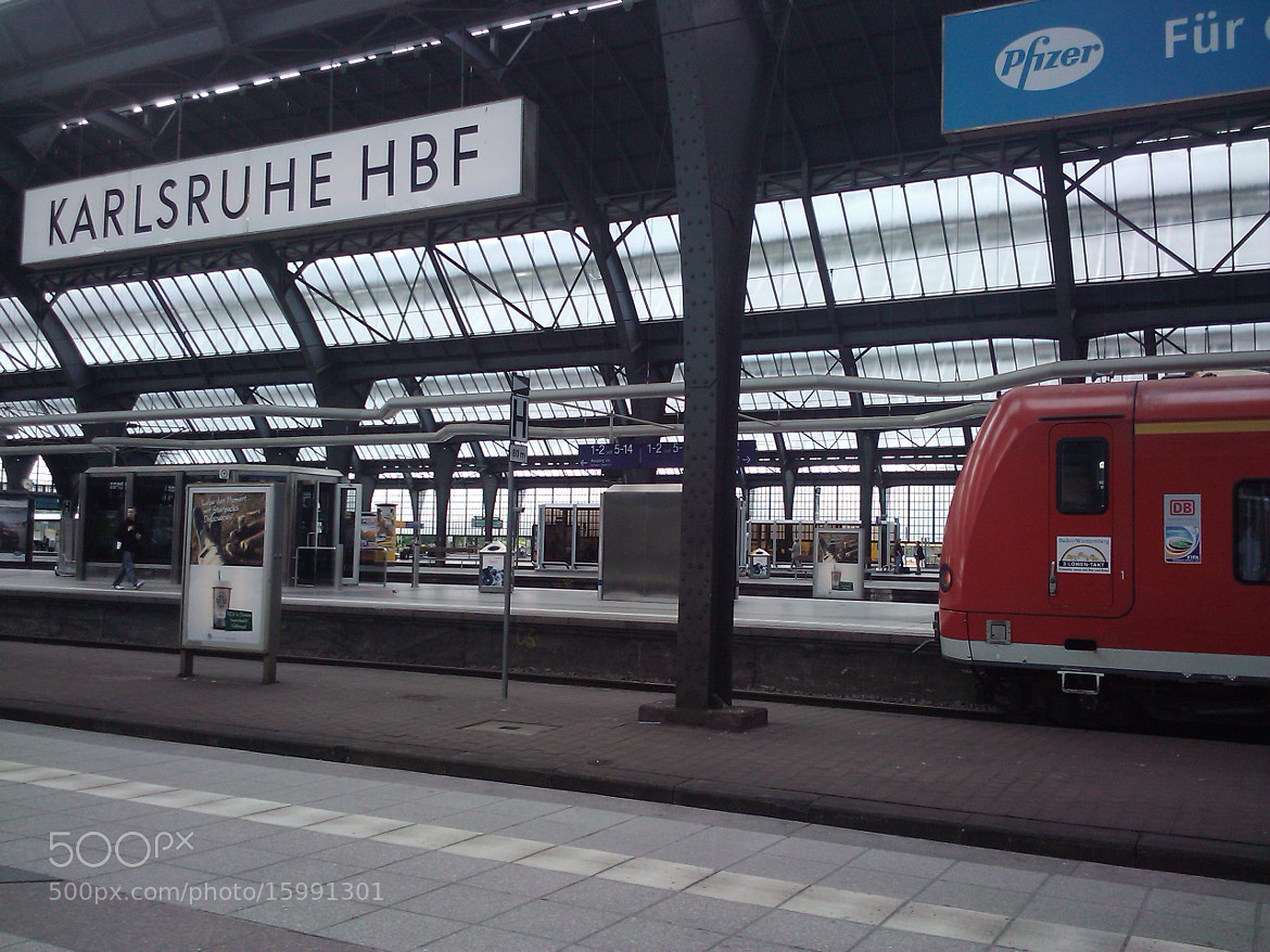 Photograph Karlsruhe HBF by Heather Steele on 500px