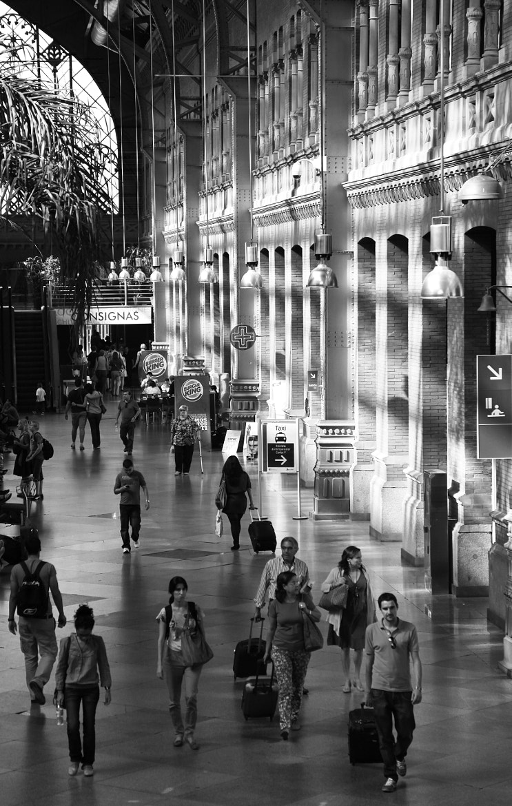 Photograph B&W STUDY - ATOCHA by armando cuéllar on 500px