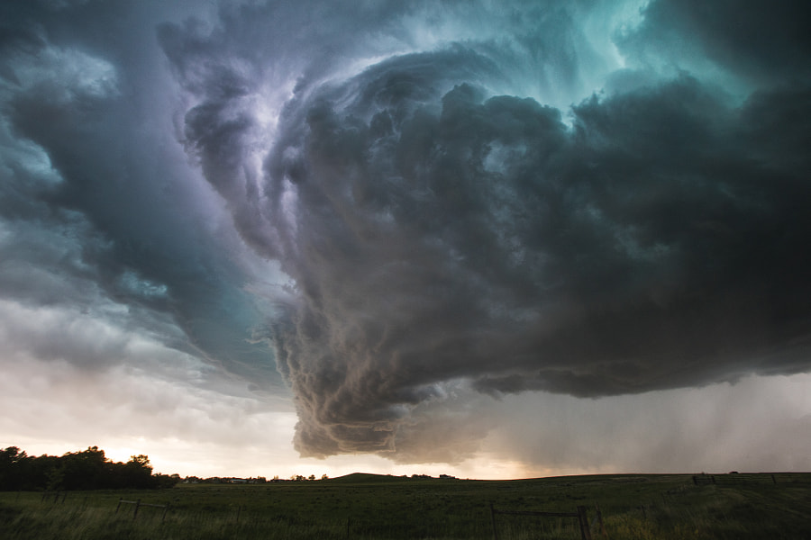 Supercell Over Baker, Montana by Kelly DeLay on 500px.com