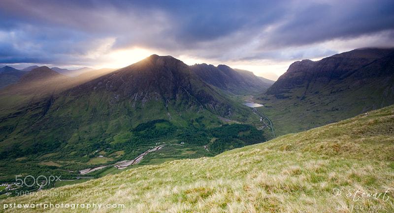 Photograph Glencoe Rays by Philip Stewart on 500px