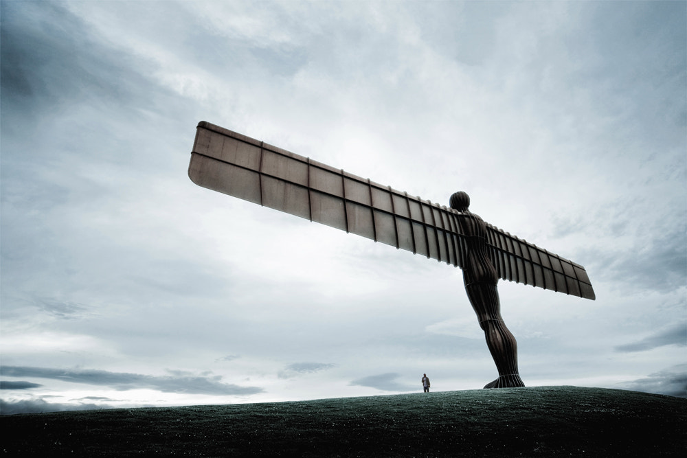 Photograph Angel of the North by Alisdair Miller on 500px
