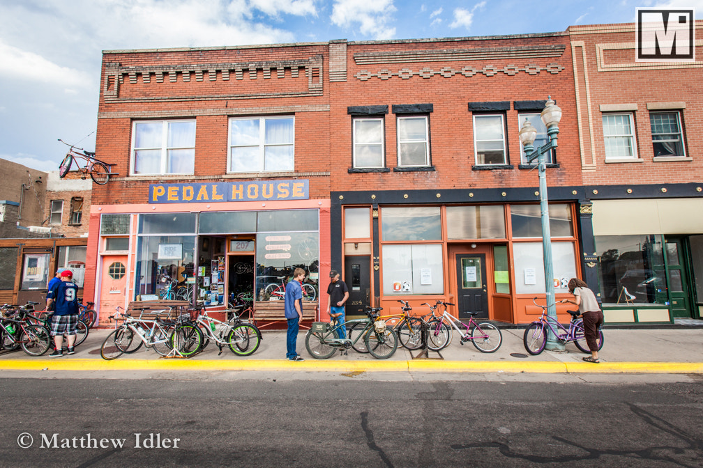 Photograph The Cycle Shop by Matthew Idler on 500px