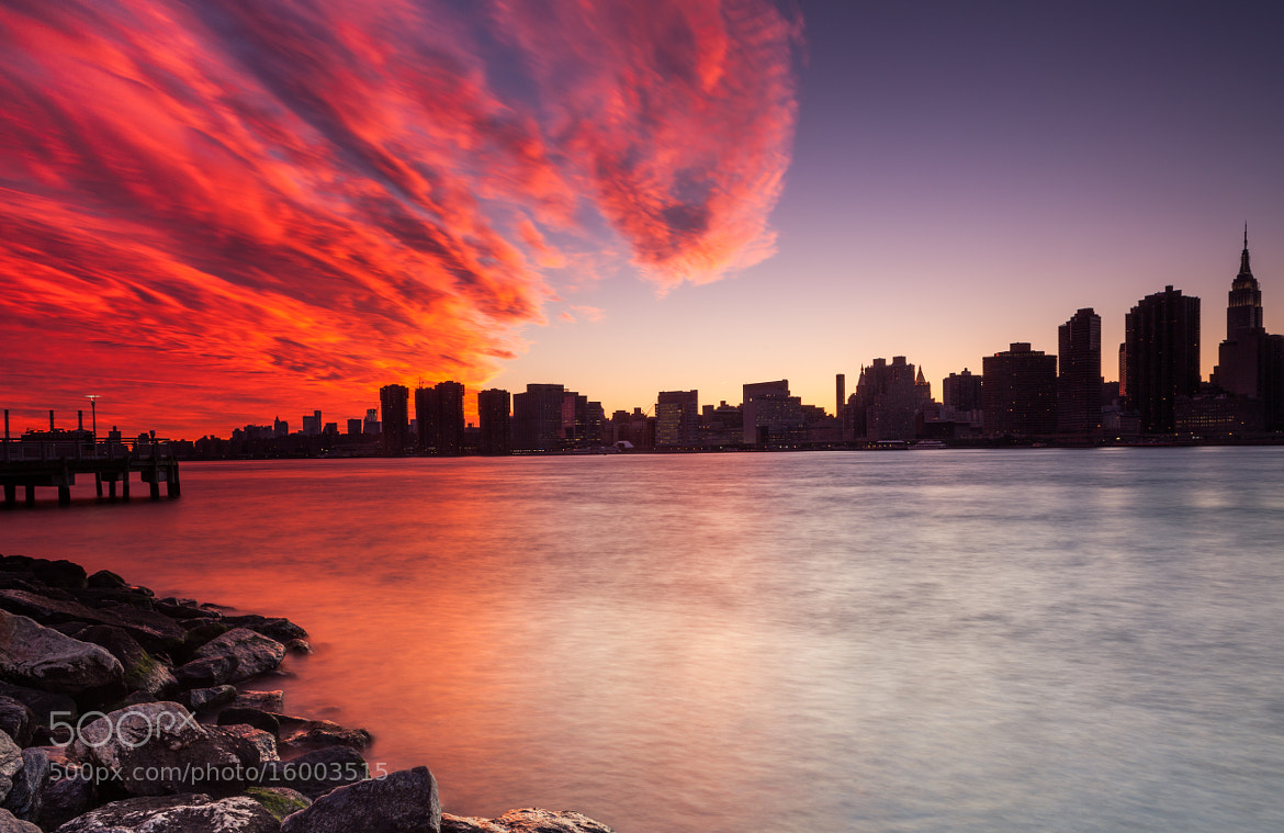 Photograph Midtown Manhattan Sunset by Rich Williams on 500px