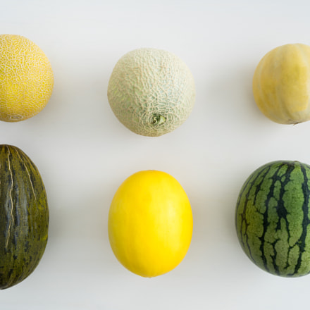 Collection of melons, Sony ILCE-7R, Canon EF 35mm f/1.4L