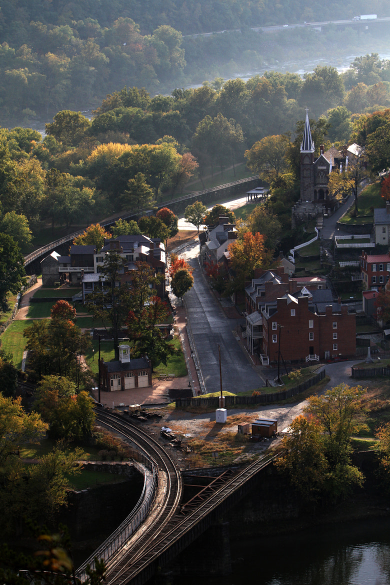 Photograph Harpers Ferry From Maryland Heights by L.E. Miller on 500px