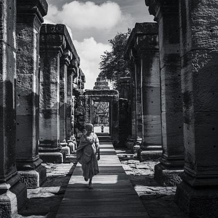 Monk in Castle
