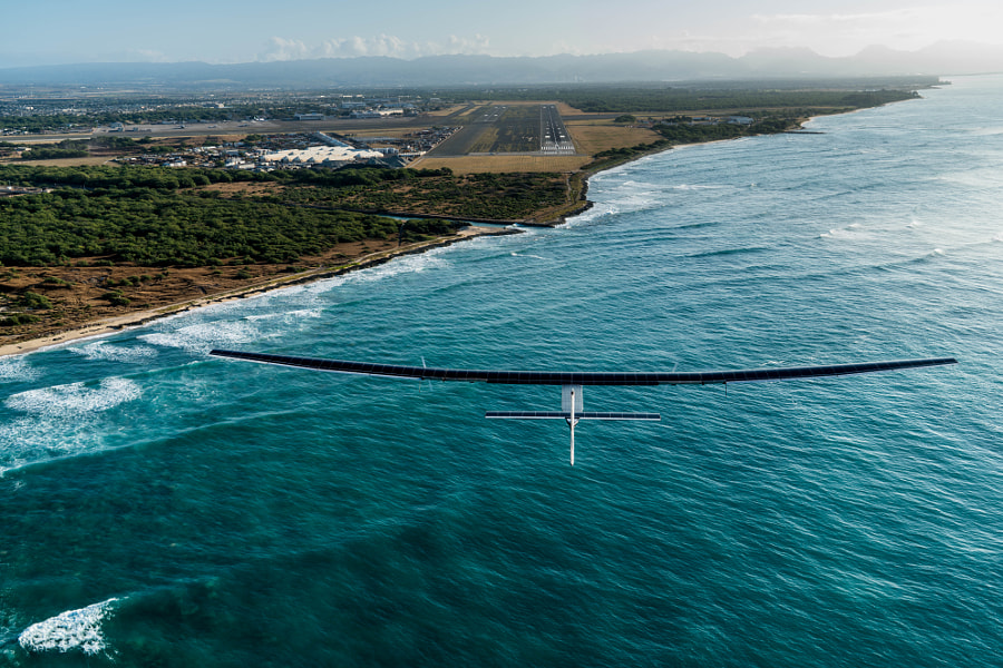 Landing in Hawaii by SOLAR IMPULSE on 500px.com