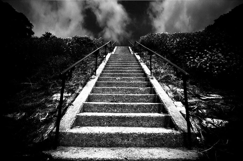 Photograph Stairway to Nowhere by Steven Kersting on 500px
