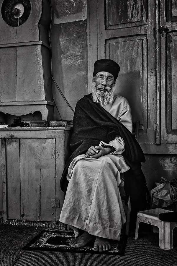 Photograph Portrait of a Priest by Alex Greenshpun on 500px