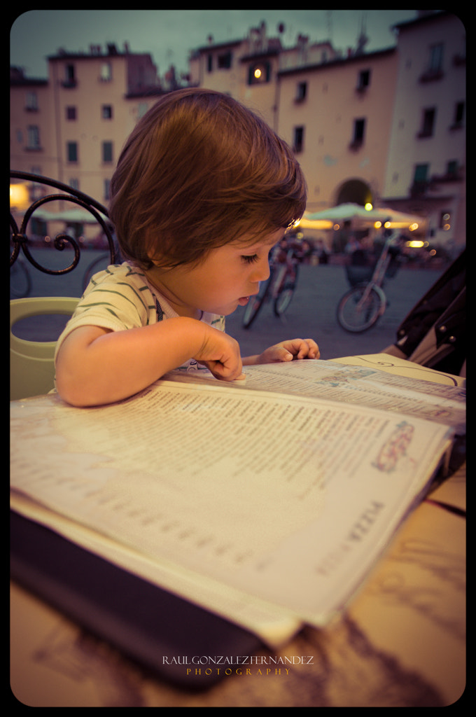 Photograph the menu card by Raul Gonzalez on 500px
