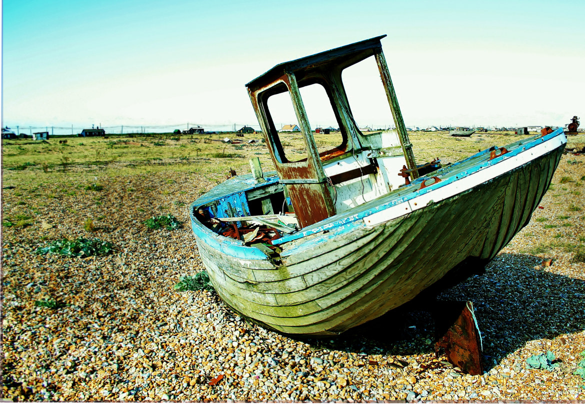 Photograph old boat 2 by David Dobson on 500px