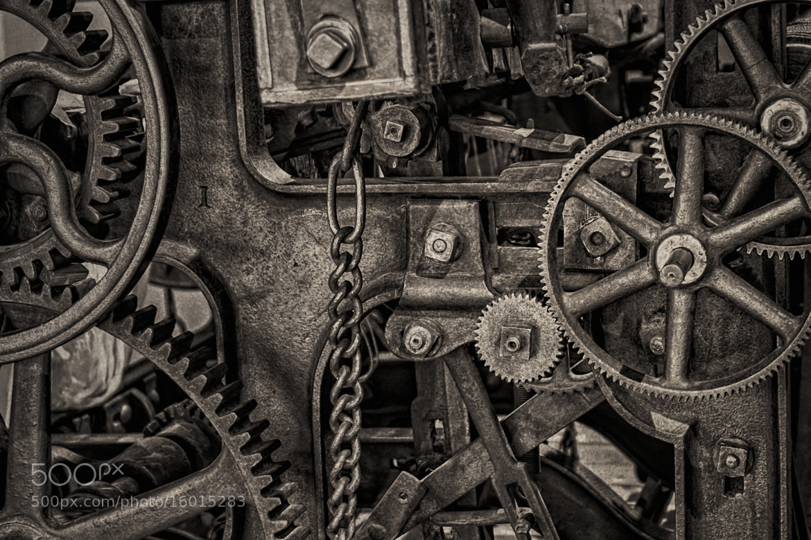 Photograph Welcome to the Machine by Erik Brede on 500px