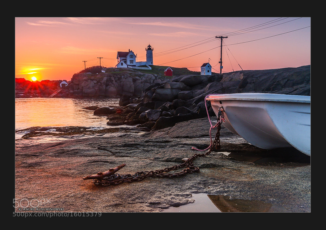 Photograph Nubble Light by Andre Koschinowski on 500px