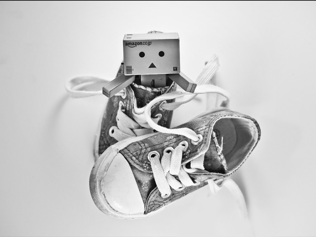 Photograph Danbo likes converse by Nicolas Paumard on 500px