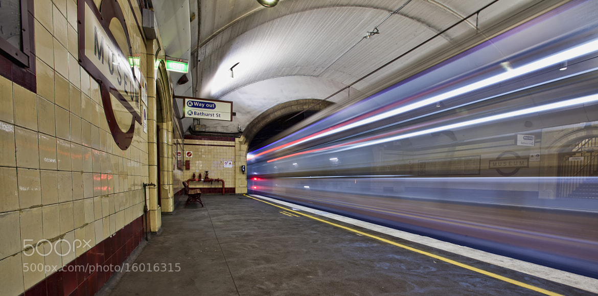 Photograph See-Through Trains by Malcolm Katon on 500px